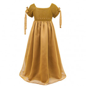 Robe Salomé - 3-5 ans - Gold