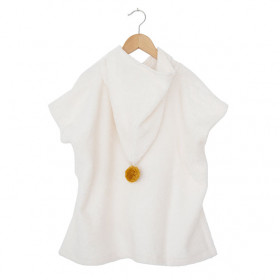 Poncho de bain So Cute - 3-5 ans - Blanc