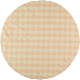 Tapis rond Apache - Ecaille - Rose
