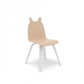 Chaises Play Lapin - Bouleau - Lot de 2