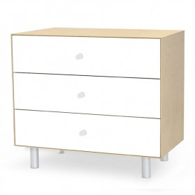 Commode Merlin 3 tiroirs - Classic - Bouleau