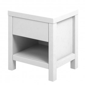 Table de nuit Joy - Blanc