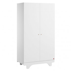 Armoire 2 portes Playwood - Blanc
