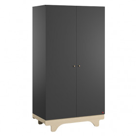 Armoire 2 portes Playwood - Bouleau / Graphite