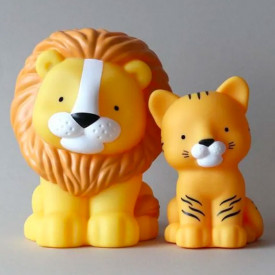 Mini veilleuse LED - Tigre Jaune A Little Lovely Company