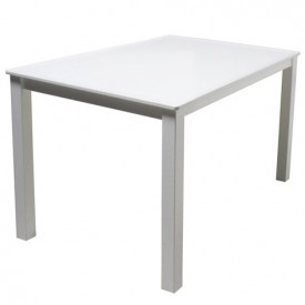 Petite table carrée Mix & Match Blanc Bopita