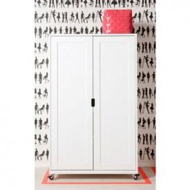 Commode 2 portes L Mix & Match - Blanc Blanc Bopita