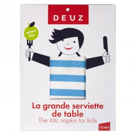 Grande serviette de table - Bleu Bleu Deuz