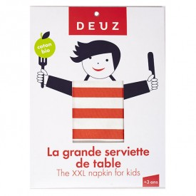 Grande serviette de table - Rouge Rouge Deuz