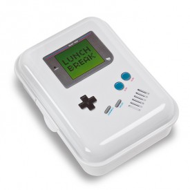 Lunch box gameboy Blanc Donkey