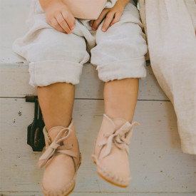Chaussons Pina - Poudre Rose Donsje Amsterdam
