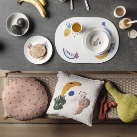 Set de table Fruiticana Multicolore Ferm Living Kids