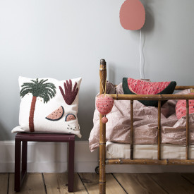Coussin Fruiticana - Palme Multicolore Ferm Living Kids