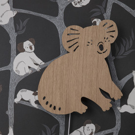 Lampe Koala - Chêne Naturel Ferm Living Kids