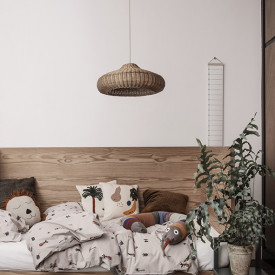 Suspension en osier Naturel Ferm Living Kids