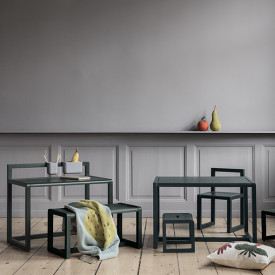 Table enfant Little Architect - Gris Gris Ferm Living Kids