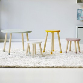 Table d'appoint PLAY - Jaune Jaune Flexa