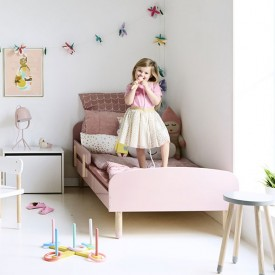 Lit simple PLAY 90 x 200 - Rose Rose Flexa