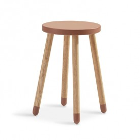 Tabouret / Table d'appoint PLAY - Cherry Bleu Flexa