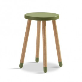 Tabouret / Table d'appoint PLAY - Kiwi Vert Flexa