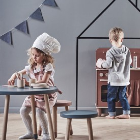 Petite table PLAY - Blueberry Bleu Flexa