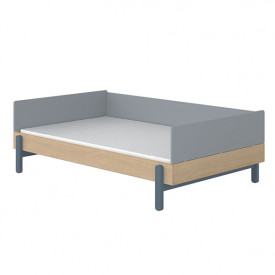 Lit banquette Popsicle 120 x 200 cm - Blueberry Bleu Flexa