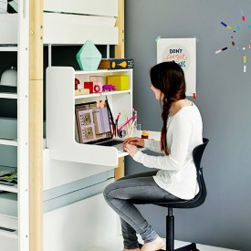 Bureau click-on White Blanc Flexa