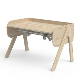 Bureau Inclinable WOODY - Bois Naturel Naturel Flexa