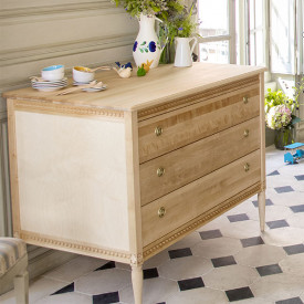 Commode - Bouleau Naturel Gustavienne