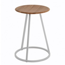 Tabouret Gustave - Noyer Multicolore Hartô