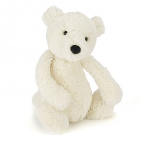 Peluche Ours Polaire Bashful (31 cm) Blanc Jellycat
