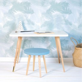 Table rectangulaire My Lovely Ballerine - Hêtre Naturel Jungle by Jungle