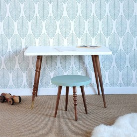 Table rectangulaire My Lovely Ballerine - Noyer Naturel Jungle by Jungle