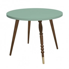 Table ronde My Lovely Ballerine - Noyer Naturel Jungle by Jungle