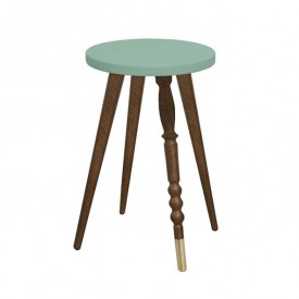 Tabouret 47 cm My Lovely Ballerine - Noyer Naturel Jungle by Jungle