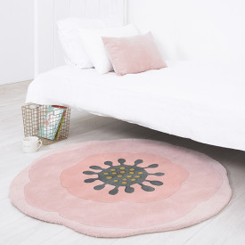 Tapis Anémone Rose Lilipinso