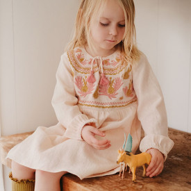 Robe Sannali - Blush Rose Louise Misha