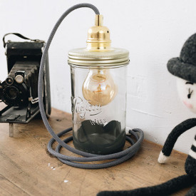 Lampe Gris - Georges Gris Ma Lumineuse
