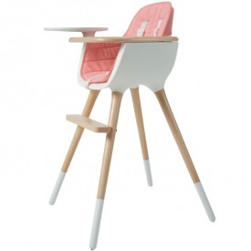 Assise - Chaise haute OVO - Rose Rose Micuna