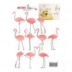 Just a touch - Flamants roses Rose MIMI'lou