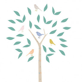 Sticker - Toise Arbre Multicolore MIMI'lou