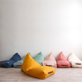 Pouf Oasis Pure Line - Rose Rose Nobodinoz