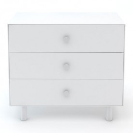 Commode Merlin 3 tiroirs - Classic - Blanc Blanc Oeuf NYC