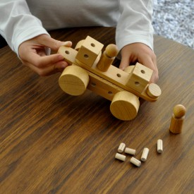 Jeu de construction POK Naturel Oi-Blocks