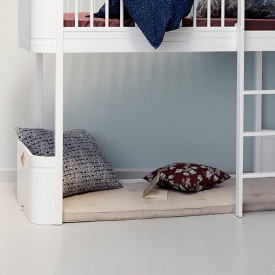 Matelas de jeu Nature - Wood Mini+  Blanc Oliver Furniture