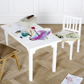 Table enfant Seaside - Blanc Blanc Oliver Furniture