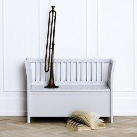 Banc de rangement Seaside - Gris Gris Oliver Furniture
