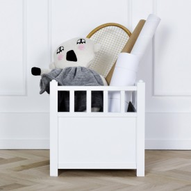 Cube de rangement Seaside Blanc Oliver Furniture
