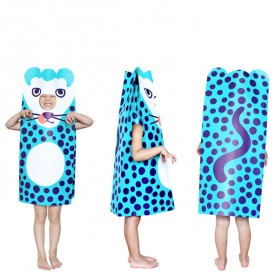 Costume en papier Panthero Bleu OMY Design & Play