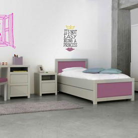 Table de nuit Sophie Blanc Bobo Kids